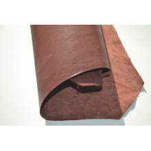 Oasis Glazed Brown leather