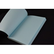 10 * 15cm blue notebook