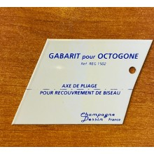 Gabarit octogone
