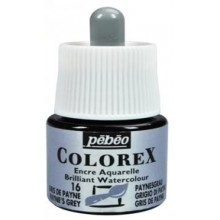 Encre aquarellable colorex gris de payne