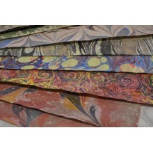 Double Passage Marbled Papers