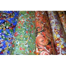 Pigment Marbled Papers